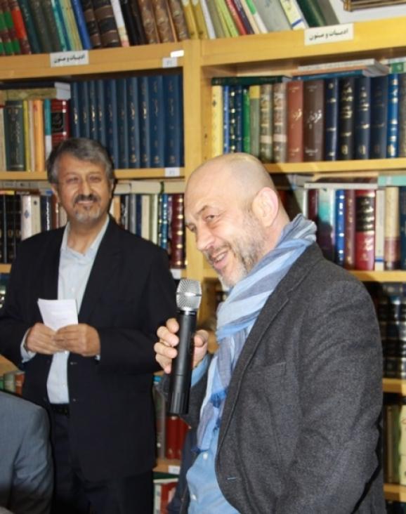 دکتر کریستف ورنر (استاد و مدیر بخش ایرانشناسی دانشگاه ماربورگ آلمان)، دکتر اکبر ایرانی