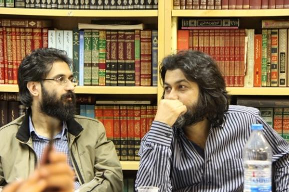 از راست: سید عبدالجواد موسوی طبری و سید عبدالرضا موسوی طبری