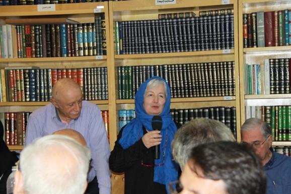 دکتر جوسپینا فریلّو (دکترای معماری و دکترای مطالعات ایران)، دکتر محمد باقری