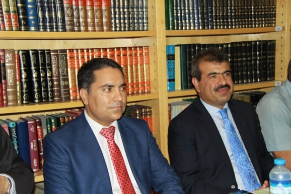 عبدالغفور لیوال (سفیر افغانستان در ایران)، جمال انصاری (مسئول علمی و دانشجویی سفارت افغانستان)