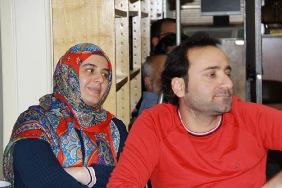 دکتر کامران بوزکورت و همسرش