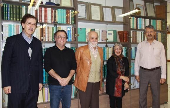دکتر اکبر ایرانی، فروغ کیوانی، دکتر مجدالدین کیوانی، انوشه کیوانی، دکتر علیاشرف مجتهد شبستری