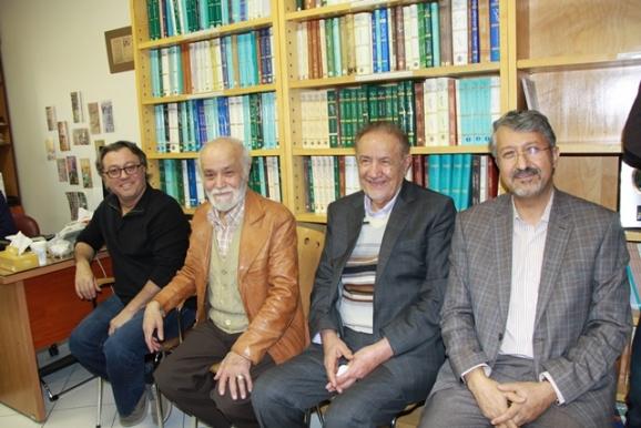 دکتر اکبر ایرانی، یحیی شایستهمنش، دکتر مجدالدین کیوانی، انوشه کیوانی