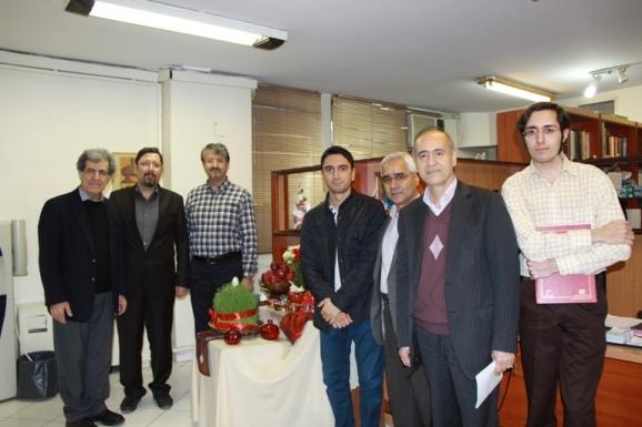از راست: احسان شواربی، محمدحسین ساکت، منصور صفت گل، سپهر صفت گل، اکبر ایرانی، هومن یوسفدهی و بهرام گرامی