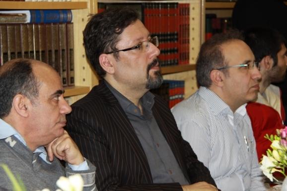 از راست: سید سعید میرمحمد صادق، هومن یوسفدهی و محسن ذاکرالحسینی