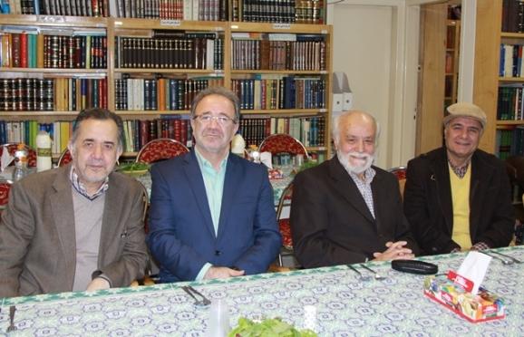 بهنام وادانی، دکتر مجدالدین کیوانی، دکتر عباسیان، دکتر محمدرضا قلیچخانی