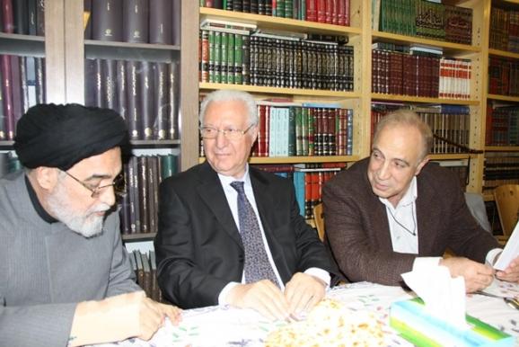 دکتر اکباتانی- دکتر محمدعلی انصاریان- دکتر سید طه مرقاتی