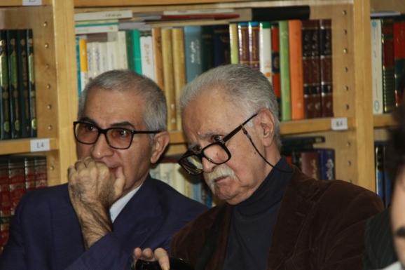از راست: محمد روشن و طهمورث ساجدی