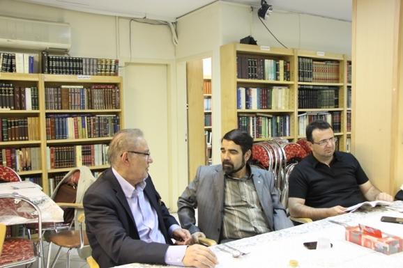 از راست: سیدعلی موجانی، محمدرضا موحدی و یحیی شایسته منش
