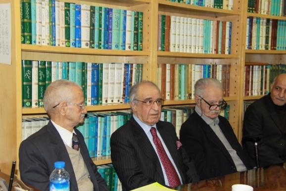 استاد محمد روشن، دکتر داریوش بوربور، دکتر محمدحسن ابریشمی