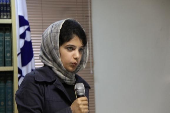 فاطمه فیاض  (از کشور پاکستان)- دانشجوی دکتری زبان فارسی دانشگاه تهران