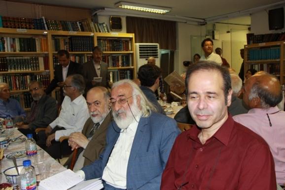 دکتر مرتضی رضوانفر، آقای سیفی، مهندس محمدرضا سحاب، دکتر محمود عابدی، دکتر سیدعلی موسوی گرمارودی