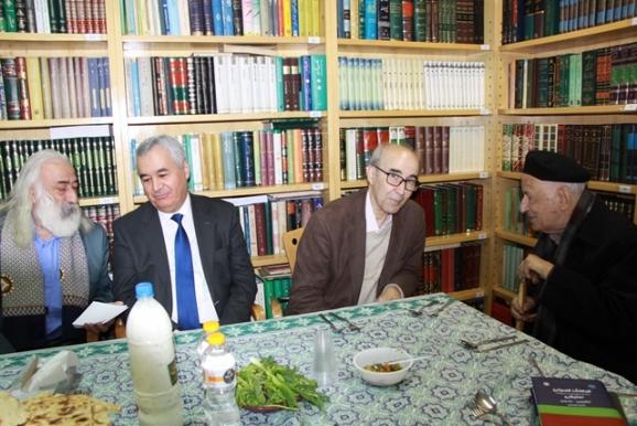 دکتر مهدی محقق، دکتر علیاشرف صادقی، نظاملدین زاهدی (سفیر تاجیکستان)، دکتر سیفی