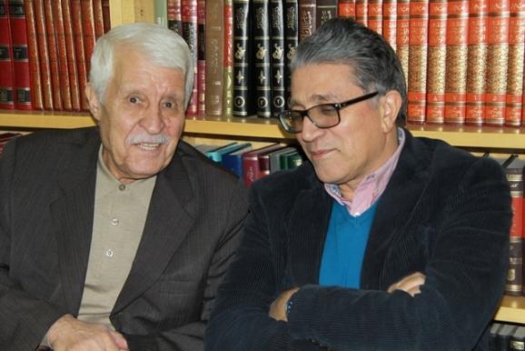 ناصر میرباقری (مدیر انتشارات فرهنگ و هنر گویا)، دکتر توفیق سبحانی