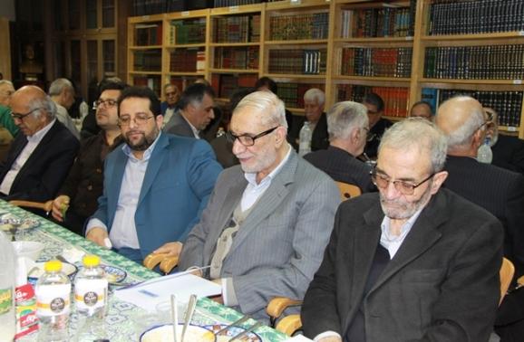 دکتر نجفقلی حبیبی، دکتر محمدعلی آذرشب، علیاصغر قاسمی (مدیرعامل خانۀ اندیشمندان علوم انسانی)