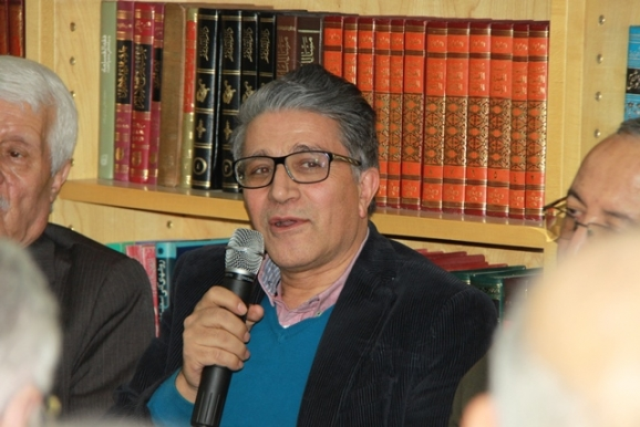 ناصر میرباقری (مدیر انتشارات فرهنگ و هنر گویا)