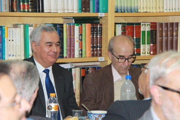 دکتر علیاشرف صادقی، نظام الدین زاهدی (سفیر جمهوری تاجیکستان)