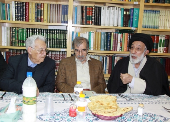 حجتالاسلام سیدهادی خامنهای، دکتر علی موسوی گرمارودی، پروفسور یوسف ثبوتی