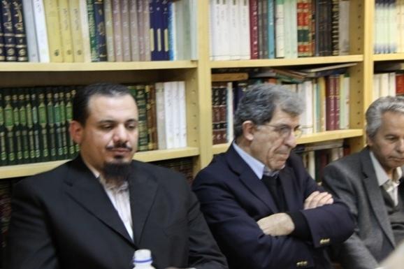 از راست: عبدالحسن بصیره، بهرام گرامی و عبدالعاطی محیی الشرقاوی